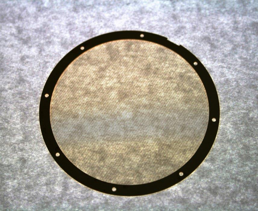 Round Bonded frame with mesh